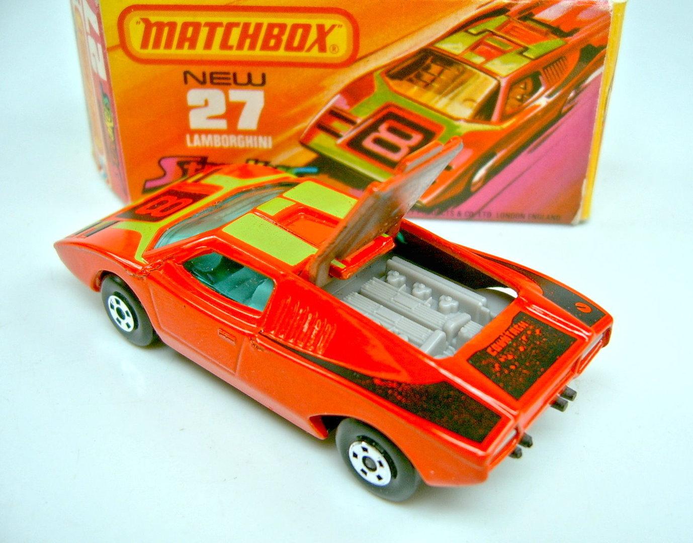 27b Lamborghini Countach Harveys Matchbox