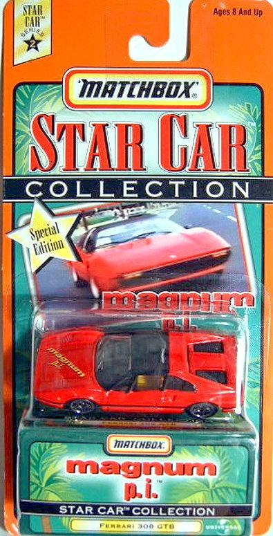 Magnum Ferrari 308 Harveys Matchbox